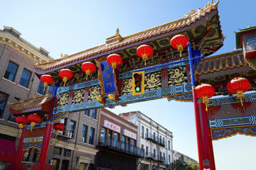 Day Trip Chinatown and Hidden Alleys Pedicab Tour near Victoria, Canada