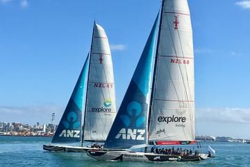 America's Cup Match Racing on Auckland's Waitemata Harbour