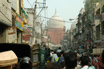 A trail through the bustling markets of Delhi