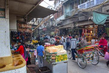 Bite your way through food map of Delhi