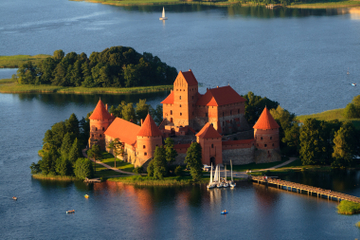 Visite du musée et du château de Trakai