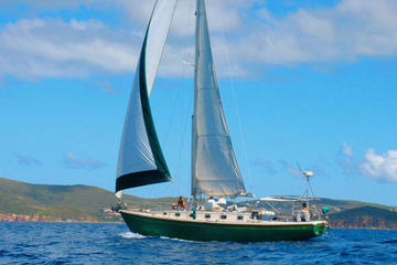 Half-Day Sail and Snorkel Adventure from St Thomas