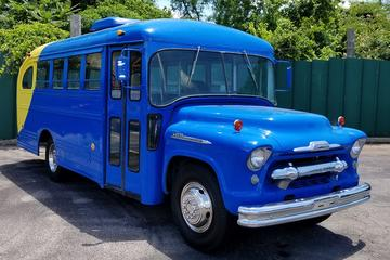 Nashville Street Art Tour via Vintage School Bus