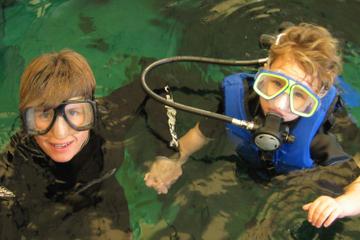 Schwimmen mit den Fischen im Florida Aquarium in Tampa Bay
