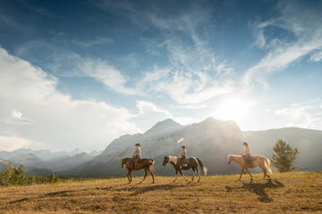 2-Hour Horseback Ride in Kananaskis with Optional Steak Lunch