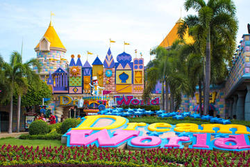 Full-Day Dream World Bangkok Admission with Hotel Transfers