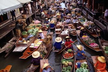 Full-Day Floating Market, Grand Palace and Temple Tour from Bangkok