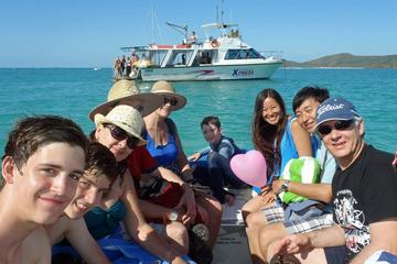 Whitehaven Beach: Barbecue, Hill Inlet Lookout Bushwalk, Snorkeling