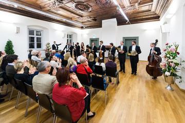 Concerto da Orquestra de Câmara Mozart in Residenz em Salzburgo