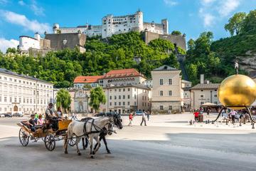 Concerto de música clássica no Castelo de Mirabell, em Salzburgo