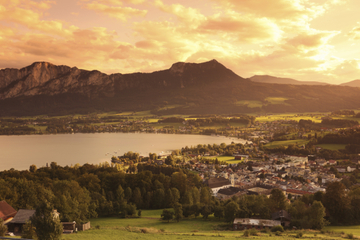 Excursão particular: excursão por lagos e montanhas da Áustria saindo...