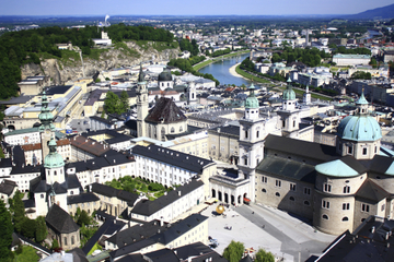 Excursão pela cidade de Salzburgo: na trilha de Mozart