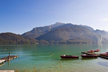 Excursão turística pelos lagos e montanhas austríacas em Salzburgo