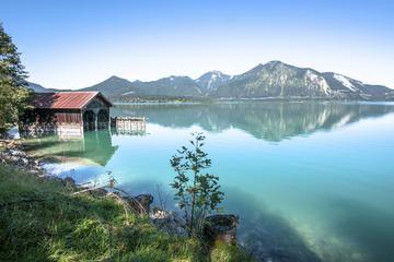 Montanhas da Bavária desde Salzburgo