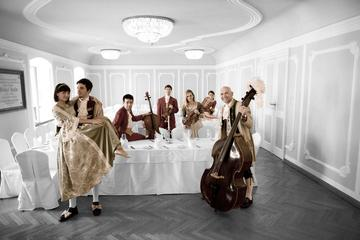 Mozart-koncert og middag i baroksalen i Salzburg