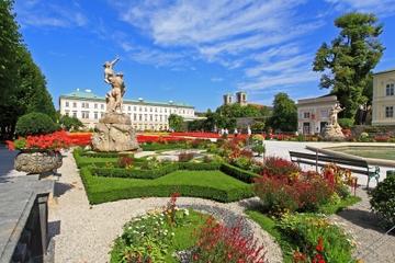 Panoramische tour door Salzburg met koffie en gebak