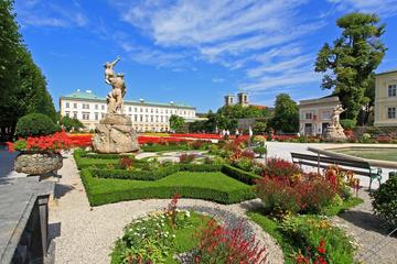 Recorrido por la ciudad de Salzburgo con café y pastel