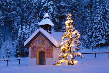 Visite de Salzbourg à la veille de Noël jusqu'à la chapelle de la...