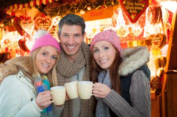 Visite privée : marchés de Noël à...