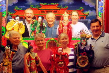 The Taiwanese Hand Puppet Show In Taipei