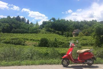Vespa tour in the Prosecco Land