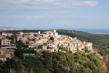 Full Day Tour of French Riviera Perched Villages and Wine Tasting...