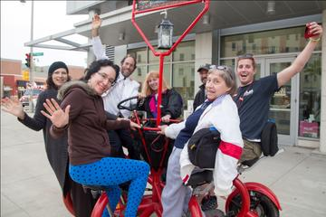 Culinary Tour of Milwaukee's Third Ward on a Party Bike
