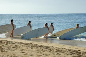 Lezioni di surf alla scuola di surf