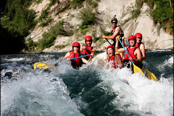 Rafting on Sava Dolinka River