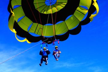 Tandem Parasail Flight over the Bay...