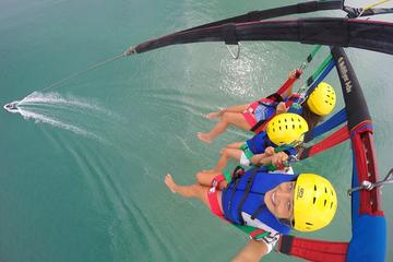 Triple Parasail Flight over the Bay of Islands