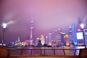 3-Hour Shanghai Private Night Tour with Huangpu River Cruise
