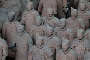 Private Xi'an Day Tour with Terracotta Warriors and Horses and Big...