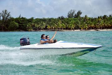 3-Hour Bavaro Splash Speedboat and Snorkeling from Punta Cana