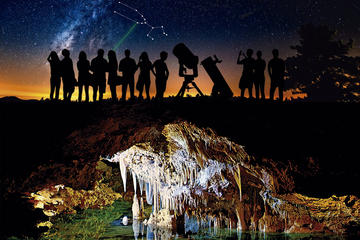 Mallorca Astronomical Tour and Caving at Night