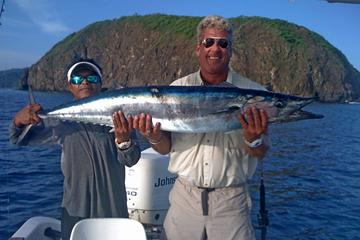 Sport fishing at El Coco in Guanacaste inshore half-day tour in the...