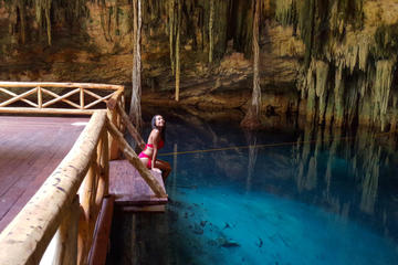 Cuzama Adventure Tour with Underground Cenotes from Merida