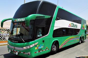 Passagem de ônibus somente de ida de Lima a Huaraz