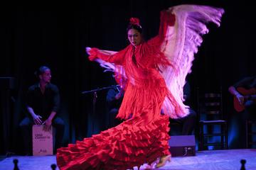 Flamenco-Vorstellung im La Bodega Flamenca