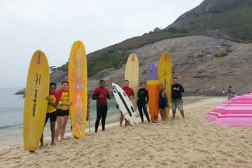 Rio de Janeiro Macumba Beach Surf Lesson