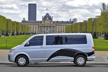 Parijs vertrektransfer per shuttlebus: luchthaven Charles de Gaulle ...
