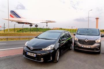 Privat henting ved ankomst Paris: Charles de Gaulle (CDG) eller Orly...
