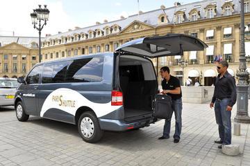 Traslado privado para llegadas a París: Charles de Gaulle (CDG) u...