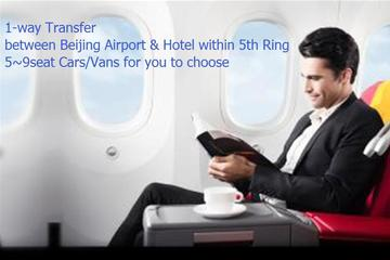 1-Way Transfer between Beijing Airport to downtown Hotel Per Vehicle Price