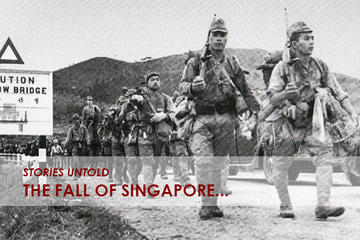 Private Tour: The Fall of Singapore WWII