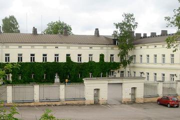 Public Helsinki Mental Asylum Walking...