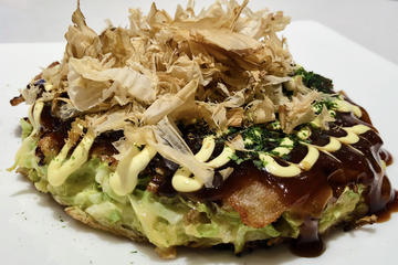 30-min Easy Okonomiyaki Cooking in...