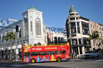 Hollywood Pass: Circuito en autobús de dos pisos con paradas libres y...