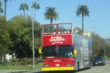 Day Trip Malibu Stars' Homes Tour and 48-hour Hop-on Hop-off Double Decker Bus near Santa Monica, California
