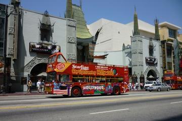 Stig på/stig af-tur med dobbeltdækkerbus i Los Angeles